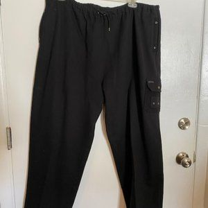Women's Black Lauren  Ralph Knit Pants 3X Plus